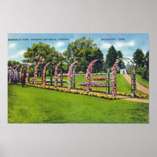 Opinião do parque de Beardsley dos jardins botânic Pôsteres