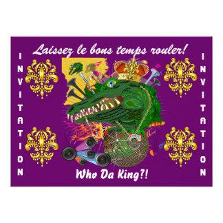 Opinião do partido do carnaval a melhor grande vê convite personalizados