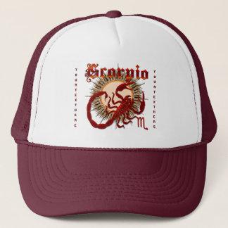 Opinião do zodíaco Scorpio-Design-1 abaixo das Boné