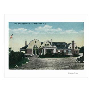 Opinião exterior o clube de golfe do Mohawk Cartão Postal