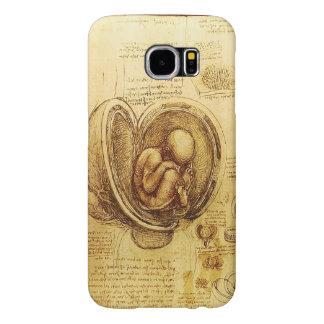 Opinião um feto no ventre, Ob-Gyn médico Capa Para Samsung Galaxy S6