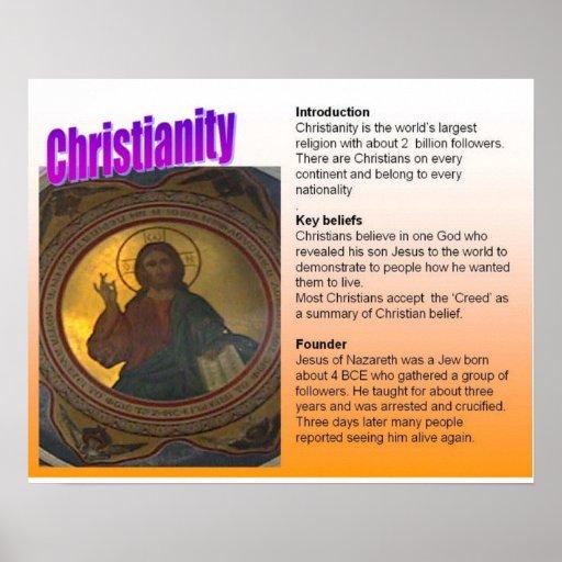 Opiniões da chave da cristandade da religião posters