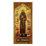 """""""Oração de St Francis de Assisi """" Planfeto Informativo Colorido"""