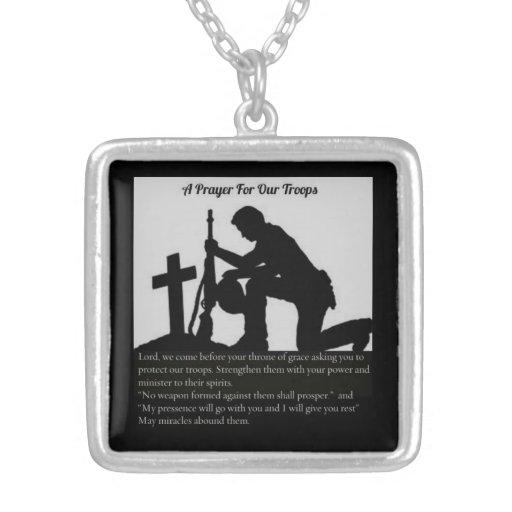 oração para a colar dos soldados