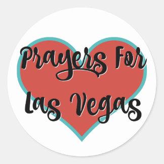 Orações para etiquetas do tributo de Las Vegas