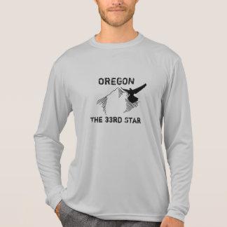 Oregon - a 3á estrela - o t-shirt dos homens