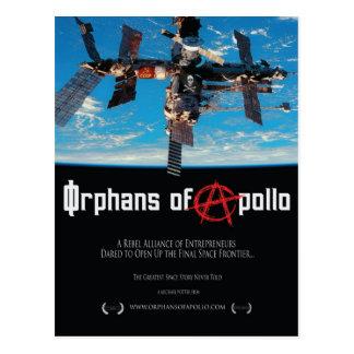 Órfão do cartão de Apollo Cartoes Postais