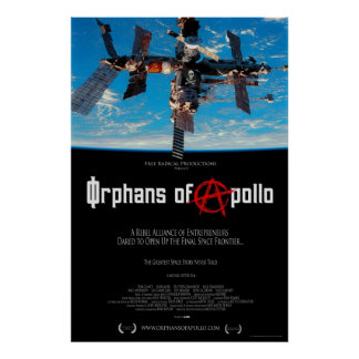 Órfão do cartaz cinematográfico de Apollo Pôsteres
