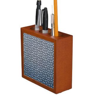 Organizador modelado cinzas da mesa