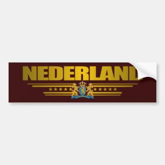 Orgulho de Nederland Adesivo Para Carro