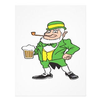 Orgulho irlandês panfleto personalizado