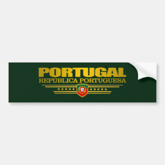 Orgulho português adesivo para carro