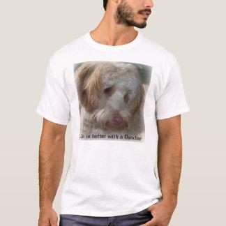 Orgulhoso de meu doodle t-shirt