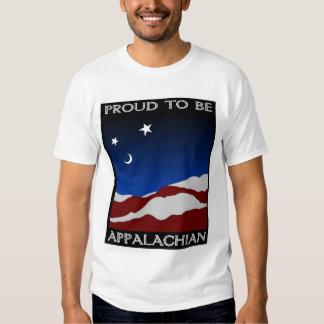 Orgulhoso ser apalaches camisetas
