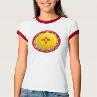 Orgulhoso ser do t-shirt de Clovis New mexico