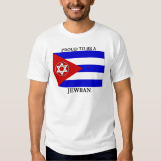 Orgulhoso ser um Jewban T-shirts