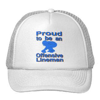 Orgulhoso ser um lineman ofensivo boné
