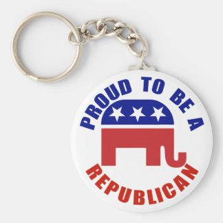 Orgulhoso ser um original republicano chaveiro
