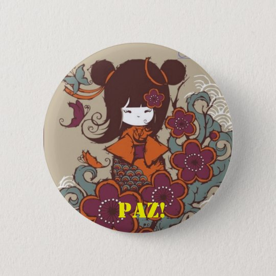 ORIGINAL!PAZ Buttons Bóton Redondo 5.08cm