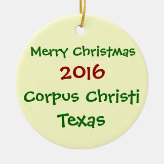 ORNAMENTO 2016 DO FELIZ NATAL DE CORPUS CHRISTI