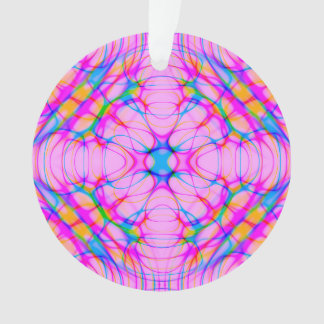 Ornamento Abstrato do teste padrão do caleidoscópio do rosa