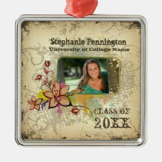 Ornamento afligido personalizado da graduação da