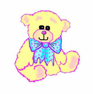 Ornamento bonito do urso de ursinho esculturafoto