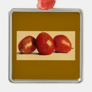 Ornamento botânico da cozinha das peras