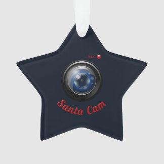 Ornamento Câmera do espião do papai noel