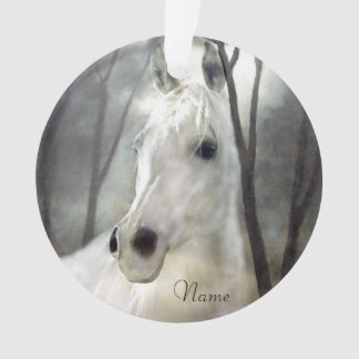Ornamento Cavalo branco
