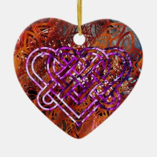 Ornamento celta do coração do nó por Nathan