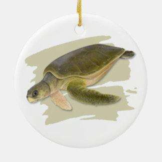 Ornamento cerâmico da tartaruga de mar de Faltback