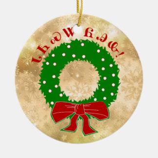 Ornamento Cherokee da grinalda do Natal