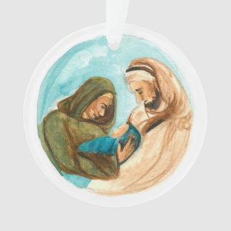 Ornamento Comedoiro da árvore de Jesse do advento