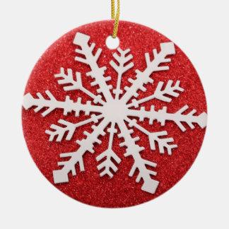 Ornamento da árvore de Natal com decorações