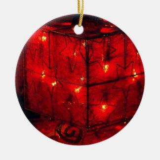 Ornamento da árvore de Natal - decorações
