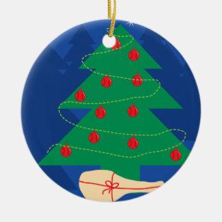 Ornamento da bola da decoração da árvore de Natal