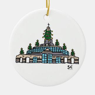 Ornamento da capela do Natal do EA