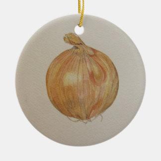 Ornamento da cozinha da cebola