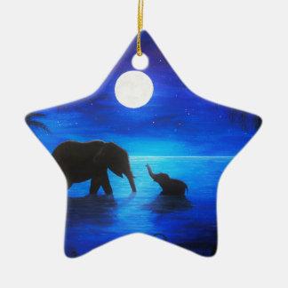 ornamento da estrela do elefante