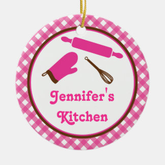 Ornamento da receita da família da cozinha