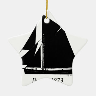 Ornamento De Cerâmica 1873 barca - fernandes tony