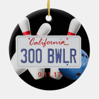 Ornamento De Cerâmica 300 Bwlr, lugar da licença de Califórnia, jogo 300