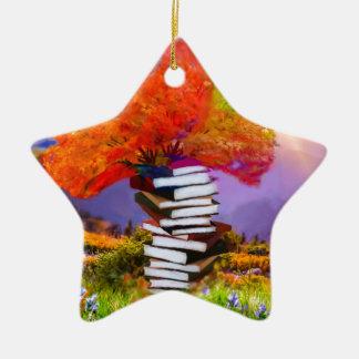Ornamento De Cerâmica A educação será sempre a base se todo o sucesso