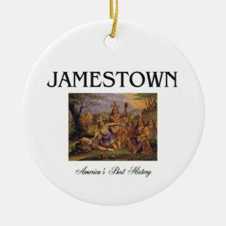 Ornamento De Cerâmica ABH Jamestown