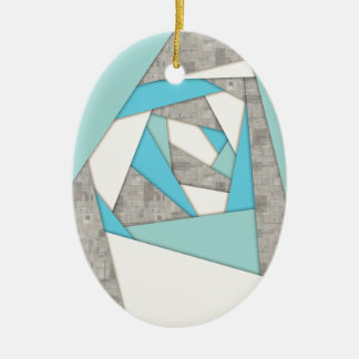 Ornamento De Cerâmica Abstrato geométrico das formas