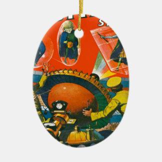 Ornamento De Cerâmica Aliens Eyed inseto nos cabos