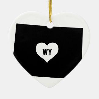 Ornamento De Cerâmica Amor de Wyoming