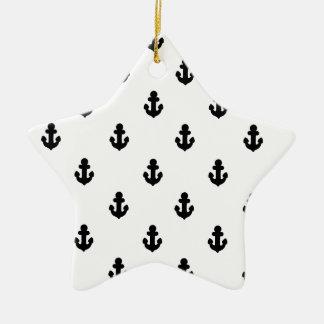 Ornamento De Cerâmica Âncoras pelo mar