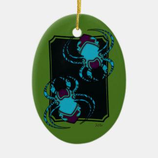 Ornamento De Cerâmica Aranha BleuTattoo